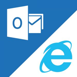 MS Outlook and Internet Explorer